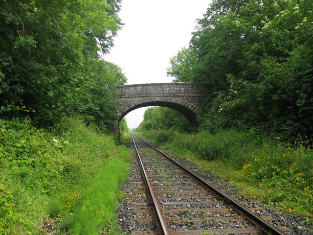 Railway bridge at Knockcommon