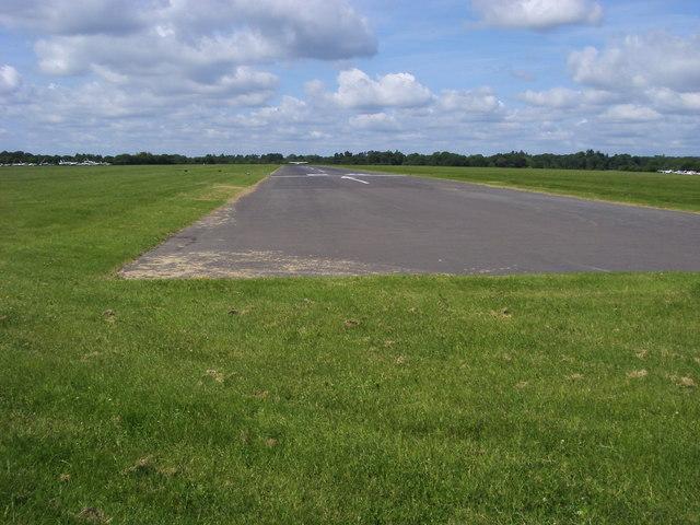 Runway at Denham Aerodrome