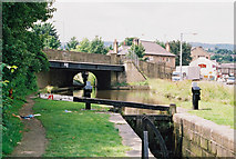 SE1115 : Above Lock No 9E, Huddersfield Narrow Canal by Dr Neil Clifton