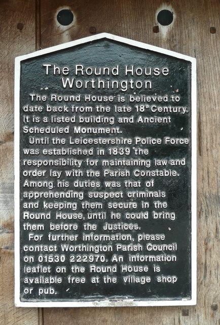 Description of Worthington's Round House