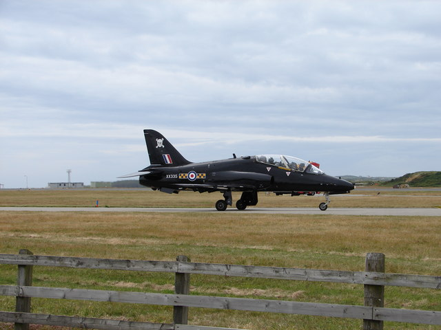RAF Valley, Hawk Aircraft