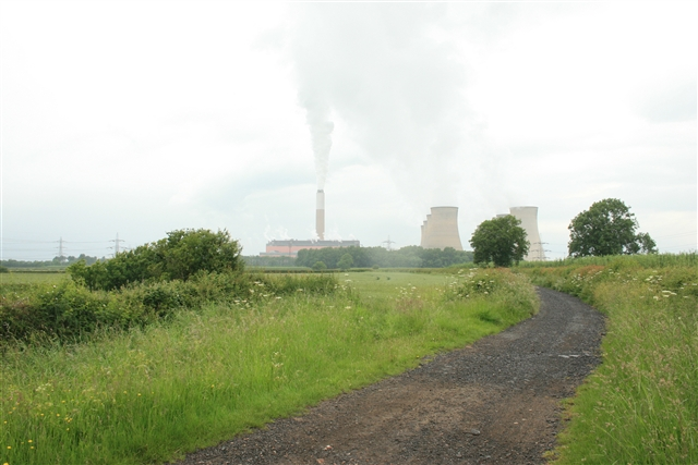 Shortley's Road, Cottam power station