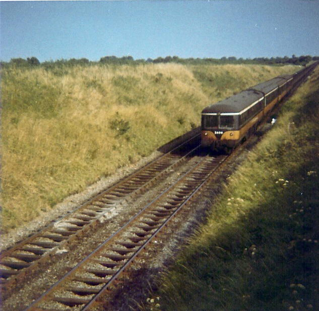 Railcar at Colp, Co. Meath