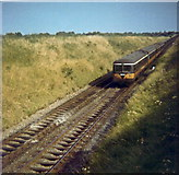 O1273 : Railcar at Colp, Co. Meath by Kieran Campbell
