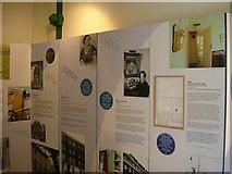 TQ2879 : Wellington Arch blue plaque exhibition by Phillip Perry