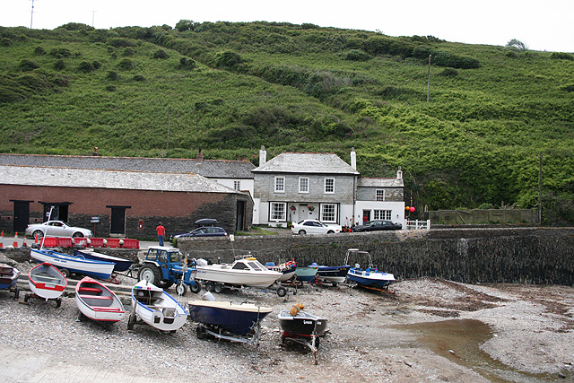 St Endellion: Port Gaverne cellars