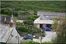 SX0080 : St Endellion: Port Gaverne by Martin Bodman