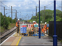 SE4081 : Thirsk Station by David Rogers