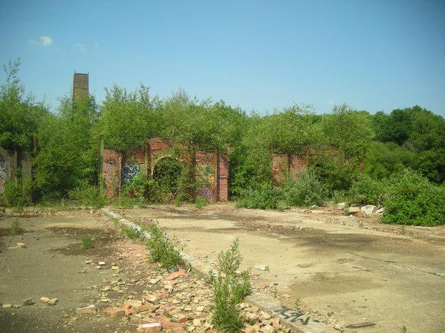 Remains of Ewhurst Brickworks