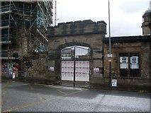 NS6065 : Castle gate? by Stephen Sweeney