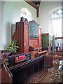 TM1698 : All Saints, Wreningham, Norfolk - Organ by John Salmon