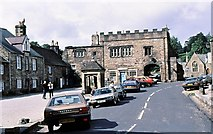 NY9650 : The Square, Blanchland by Gordon Hatton