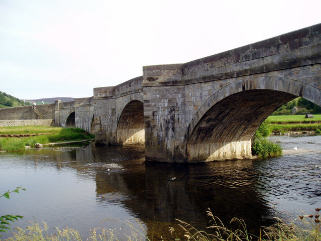 Burnsall Bridge, Wharfedale, Yorkshire