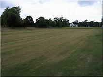 TQ0866 : Bishop Duppas Recreation Ground by Shaun Ferguson