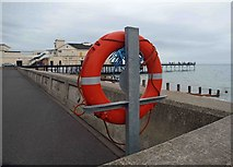 SZ9398 : The pier and promenade Bognor Regis by Steve  Fareham