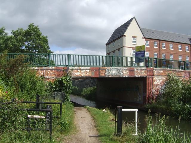 Stoke's Bridge -Wyrley and Essington Canal