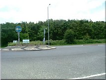 TQ0485 : Denham Roundabout - A40 by Phillip Perry