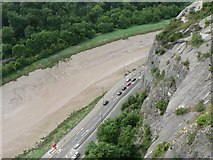 ST5673 : Clifton: looking into the Avon Gorge by Chris Downer