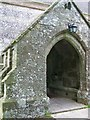 ST9917 : Porch, Church of St Mary the Virgin, Sixpenny Handley by Maigheach-gheal