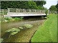 TQ0486 : River Misbourne in Denham by Nigel Cox