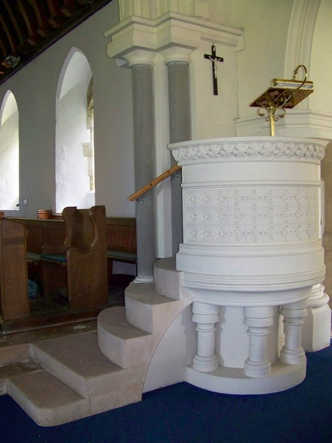 Pulpit, Church of St Mary the Virgin, Sixpenny Handley
