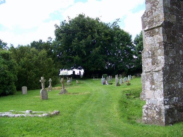 Footpath, Church of St Mary the Virgin, Sixpenny Handley
