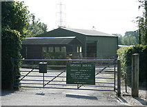 ST8351 : 2008 : The Meads Nursery, near Rudge by Maurice Pullin