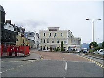 NN1073 : Imperial Hotel, Fort William by Stephen Sweeney