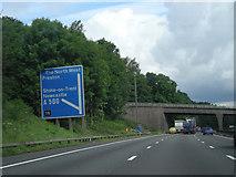 SJ8441 : Approaching M6 junction yuk! by Row17