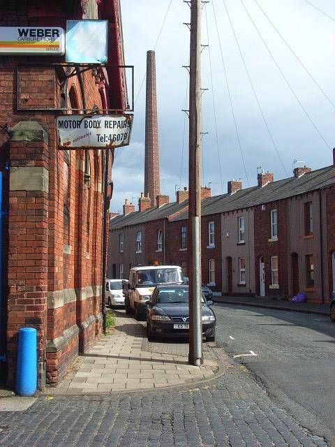 Morton Street And Dixons Chimney Carlisle