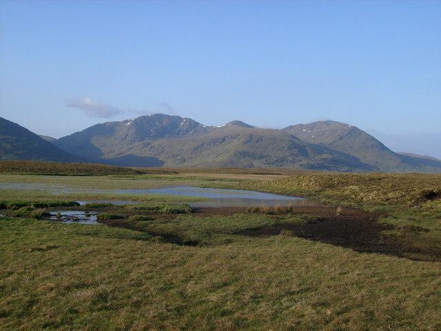 Western Fannichs and Loch Badan na Moine