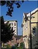 SX9193 : Building styles, Exeter by Derek Harper
