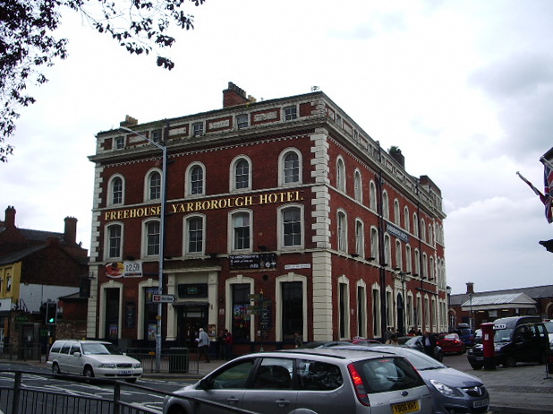 Yarborough Hotel, Bethlehem Street, Grimsby