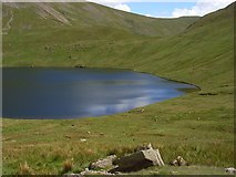 NY3412 : Grisedale Tarn by Andrew Smith