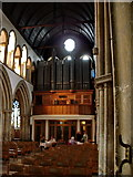 TA2609 : The Parish Church of St James, Grimsby, Organ by Alexander P Kapp