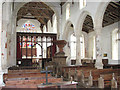 TF9521 : St Bartholomew's church - view east by Evelyn Simak