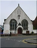 SE3053 : Oatlands Mount Methodist Church - Gladstone Street by Betty Longbottom