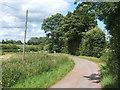 TM2754 : Lane corner near Dallinghoo by Andrew Hill