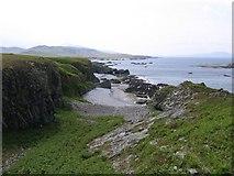NR5388 : Jura coastline north of Shian Bay by Andrew Spenceley
