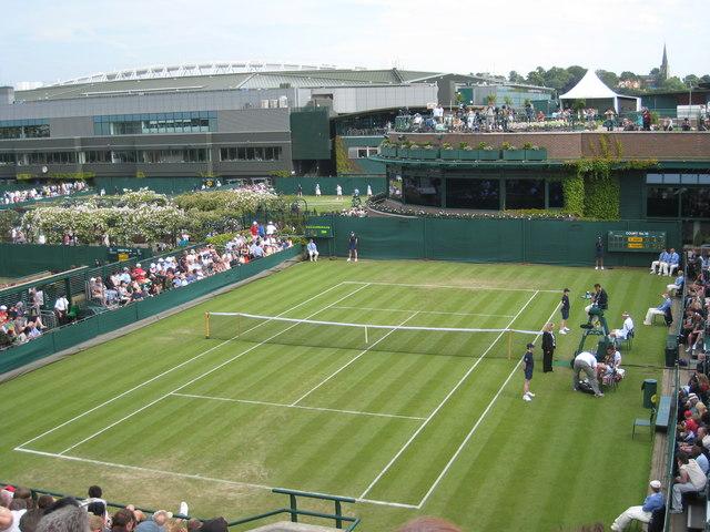 General view at Wimbledon 2008