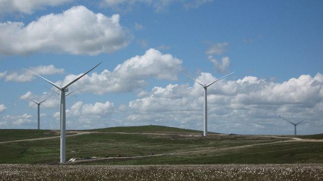 Scout Moor Wind Farm West