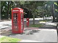SZ1091 : Bournemouth: postbox № BH1 5, Manor Road by Chris Downer