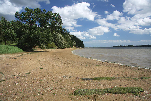 River Orwell foreshore at Nacton