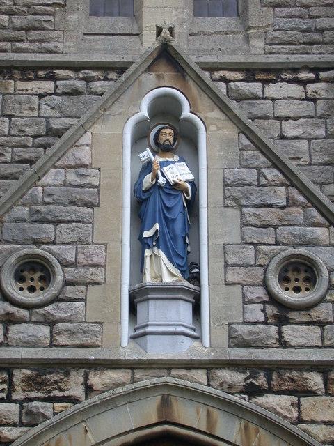 St Peter's Church, detail