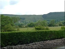 SK1583 : View from main road into Castleton from Hope by Paul Shreeve