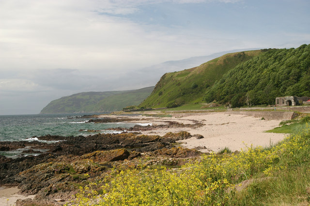 View From Keil Point Kintyre