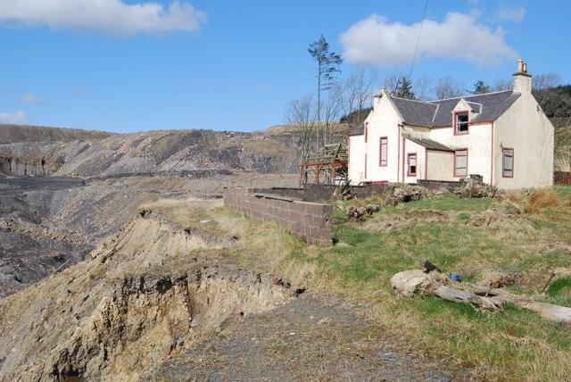 Craigman Farm, New Cumnock by Robert Guthrie
