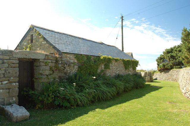 Cornish stone barn, Rinsey Hamlet