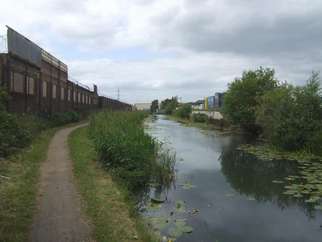 Walsall Canal west of Bentley Bridge