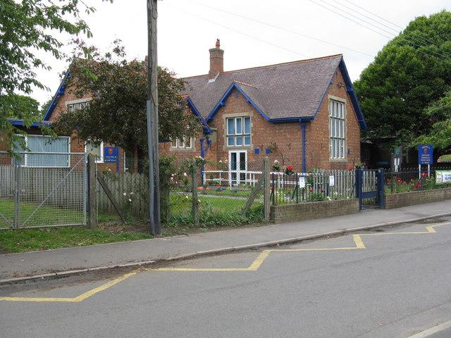 Church Eaton - the primary school